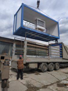 В Волгоградскую область отгружен модульный молочный завод